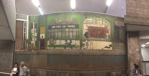 Cauduro Mural, Metro Insurgentes @ Mexico City 04.2014