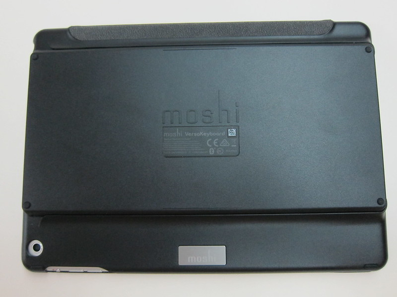 Moshi VersaKeyboard for iPad Air - Back With Bluetooth Keyboard