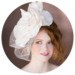 Magnolia Flower Headpiece
