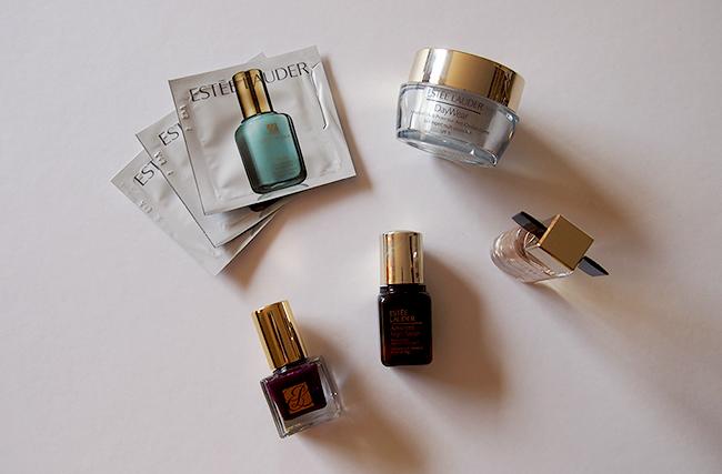 estée lauder skincare perfume nail polish