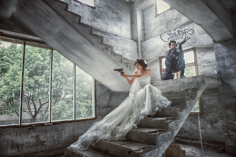 Donfer Photography, Fine Art, Pre-Wedding, 自助婚紗, 自主婚紗, 廢墟