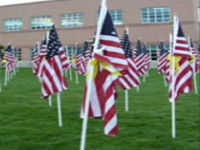 Memorial Day 2014 - Flags