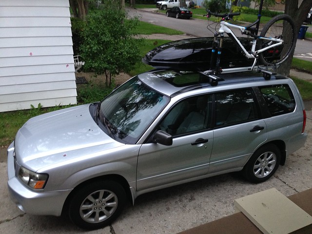 Auto Roof Rack Options Thule Aerobar Vs Yakima Whispbar