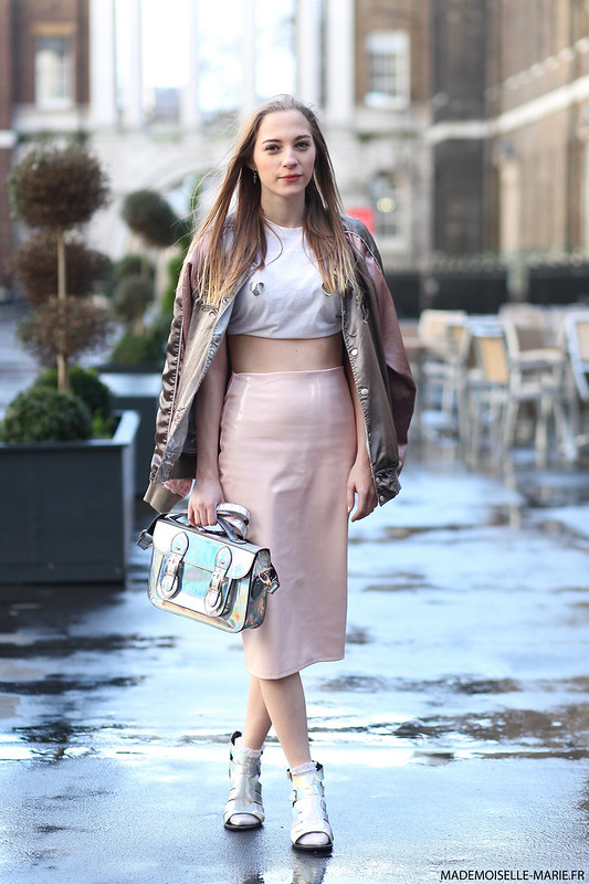 Sabrina Carder at London Fashion Week