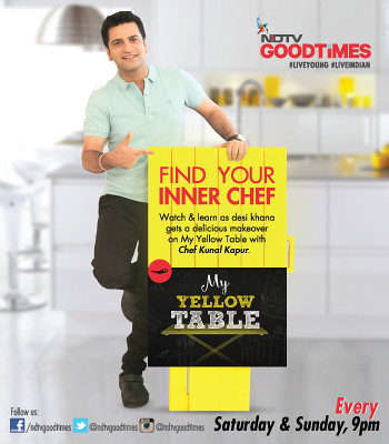 Learn the art of easy cooking from Chef Kunal Kapur on My Yel