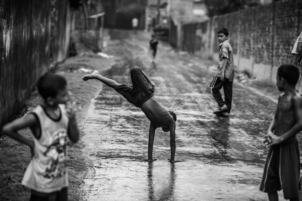 Monsoon Happiness