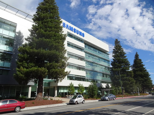 Samsungs nya Campus i Mountain View
