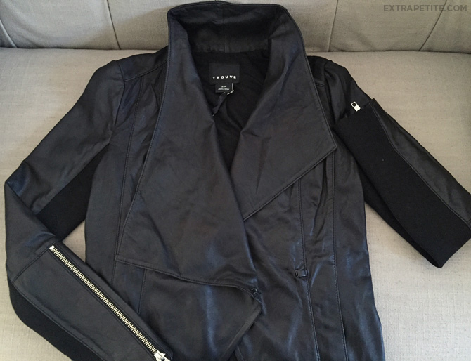 Trouve leather jacket nordstrom1