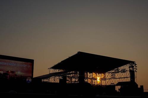 日本海夕日コンサート2015