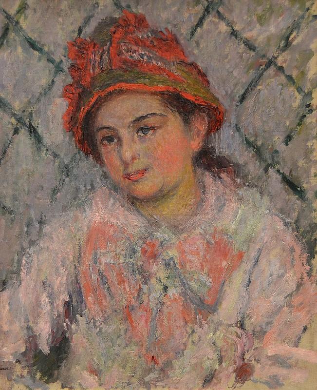 """Rouen (Seine-Maritime) - Musée des Beaux-Arts - """"Blanche Hoschedée-Monet, vers 1879-1880"""" (Claude Monet, 1840-1926)"""