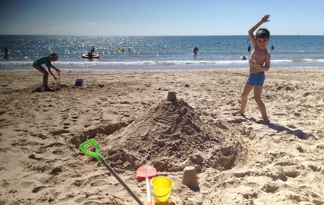 Karate Chop Sandcastle