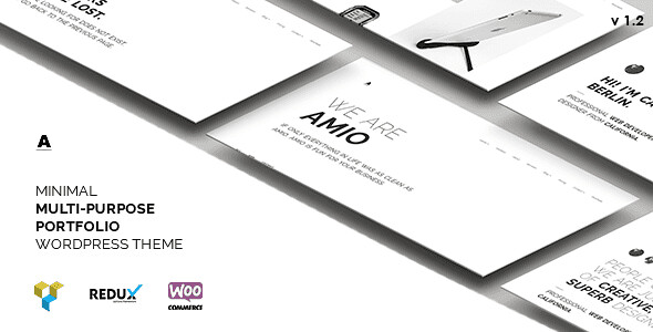 Amio WordPress Theme free download