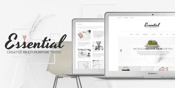 Essential WordPress Theme free download