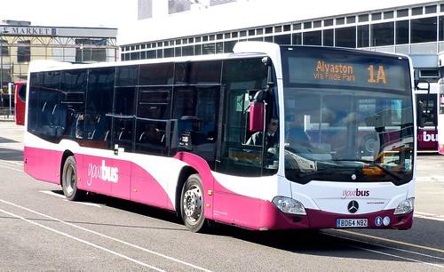 BD64 NCE 'yourbus' No. 3104 Mercedes-Benz Citaro /1 on 'Dennis Basford's railsroadsrunways.blogspot.co.uk'