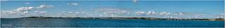 Panoramablick über das 'Hagensche Wiek'