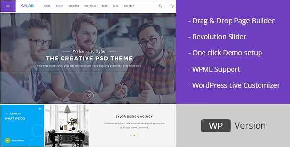 Sylor WordPress Theme free download