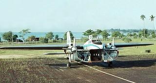 1965 NZ5910 at Changi, Singapore