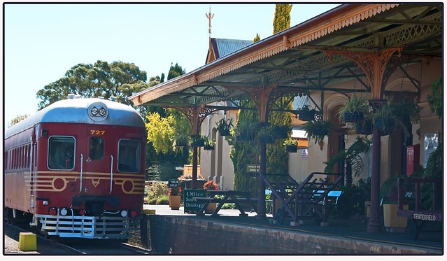 At Tenterfield Station