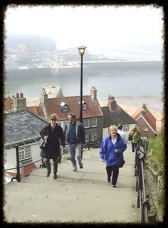 Climbing Whitby's 199 Steps