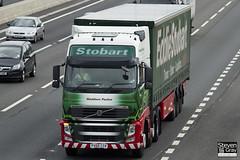 Volvo FH 6x2 Tractor - PX60 CSV - Maddison Pauline - Eddie Stobart - M1 J10 Luton - Steven Gray - IMG_9071