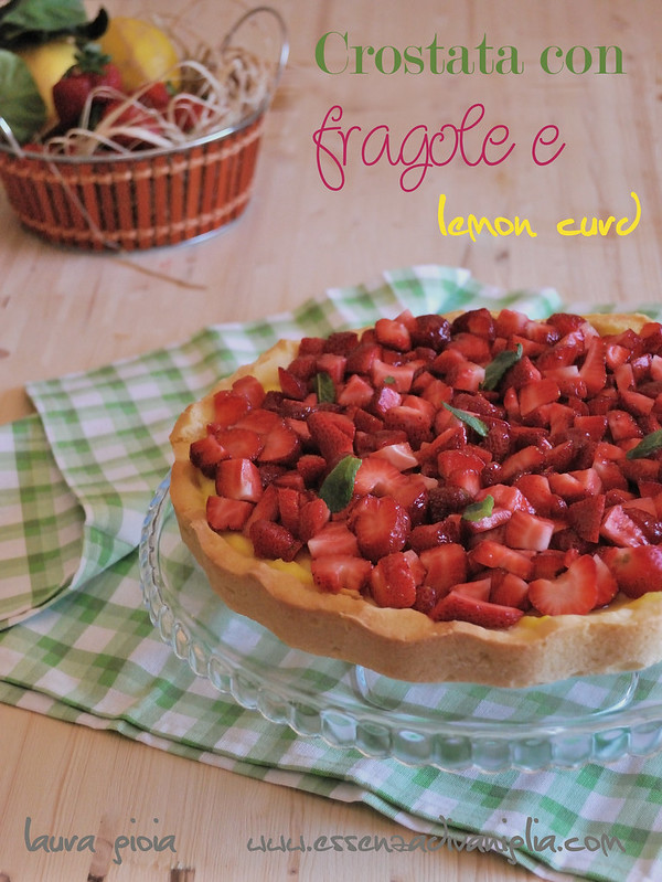 crostata con fragole e lemoncurd copy