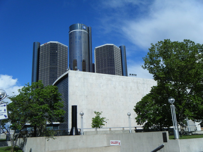 Ford Auditorium and Renaissance Center