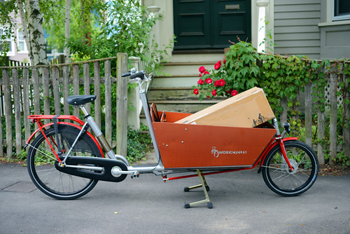 Dutch Bikes For Tall Men These iconic Dutch cargo bikes