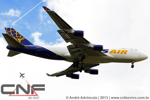 Boeing 747-400F Atlas Air Cargo N419MC