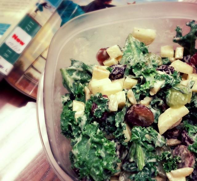 Kale Waldorf(ish) Salad