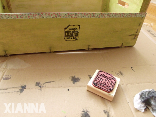 Caja estampada / Stamped box