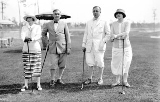 Golfers at the Miami Biltmore Golf Club