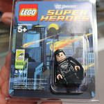 LEGO DC Universe Super Heroes SDCC 2013 Exclusive Black Suit Superman Minifigure