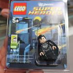 LEGO DC Universe Super Heroes SDCC 2013 Exclusive Black Suit Superman Minifigure