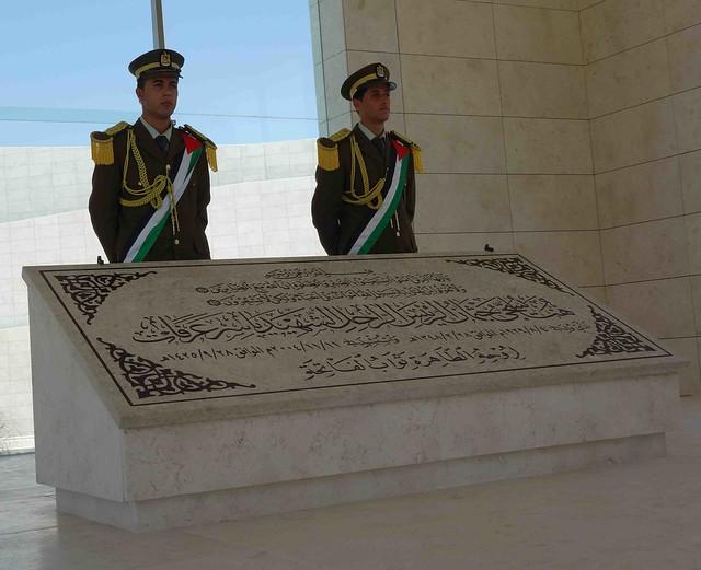 Yasser Arafat's Tomb in Ramallah