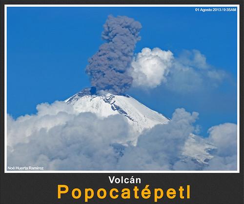 Popocatépetl en Agosto