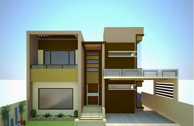 Pakistani House Architecture & Designs - SkyserCity on living room tv design, simple wood gate design, 10 marla house design, home design, map design, front room one wall design,
