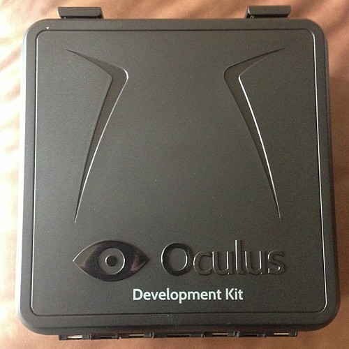 Oculus rift arrived