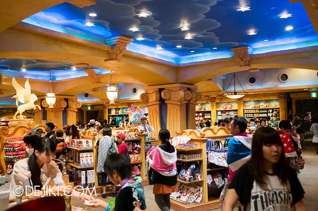 Tokyo DisneySea - inside Emporio Store