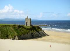 The ruins of Ballybunnion Castle