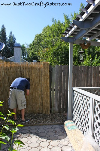 Install Bamboo Privacy Fencing