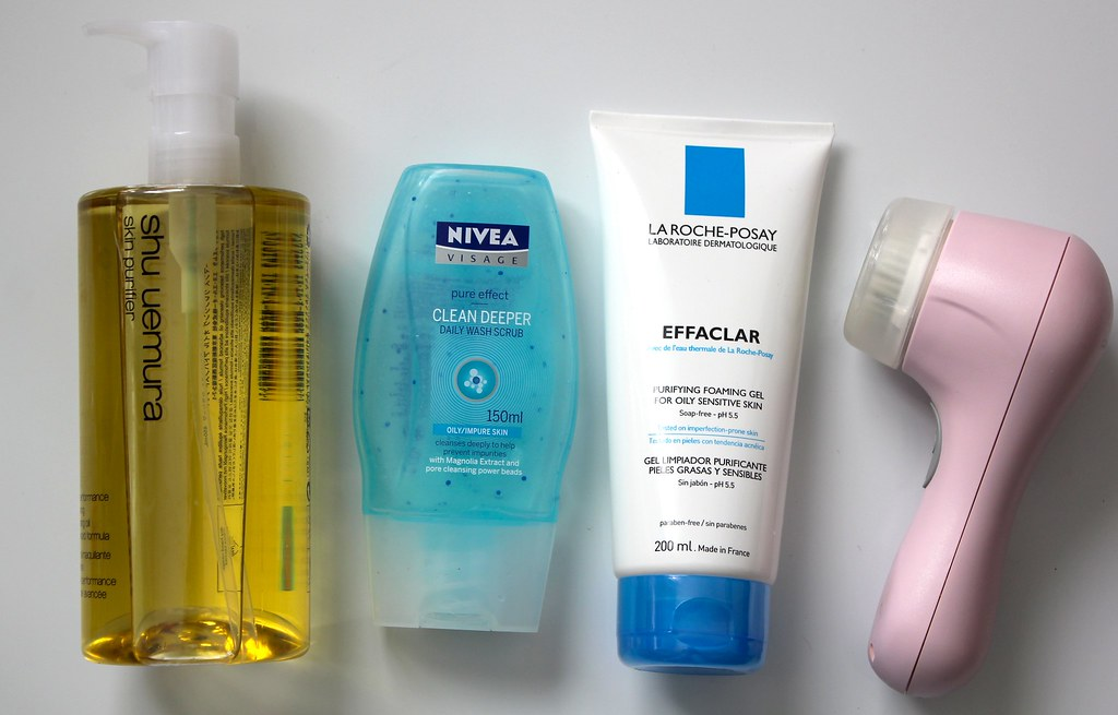 skincare i use to help with my combination and spot