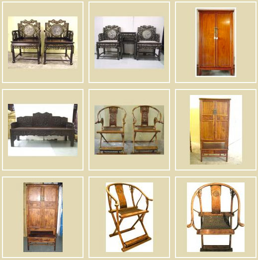 cabinets chairs benches - antique chinese furniture