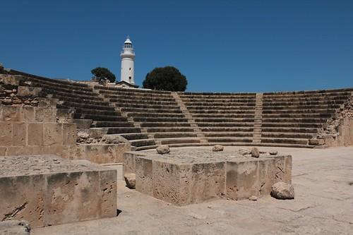 Paphos, Parco archeologico: l'Odeon
