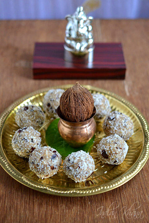 Vegan Dates Sesame Laddu Recipe