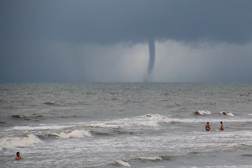 Waterspout in Galveston