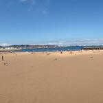 Playa de Poniente. Gijón.