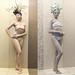 bodypainting statues caesarstone