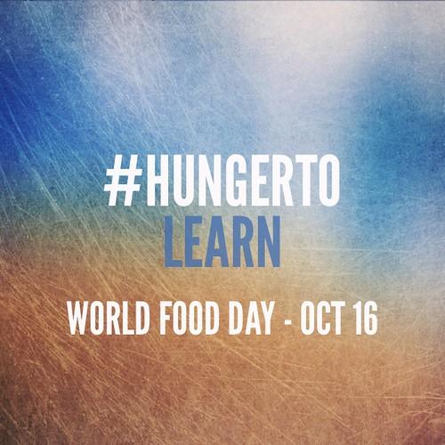 #Hungerto learn