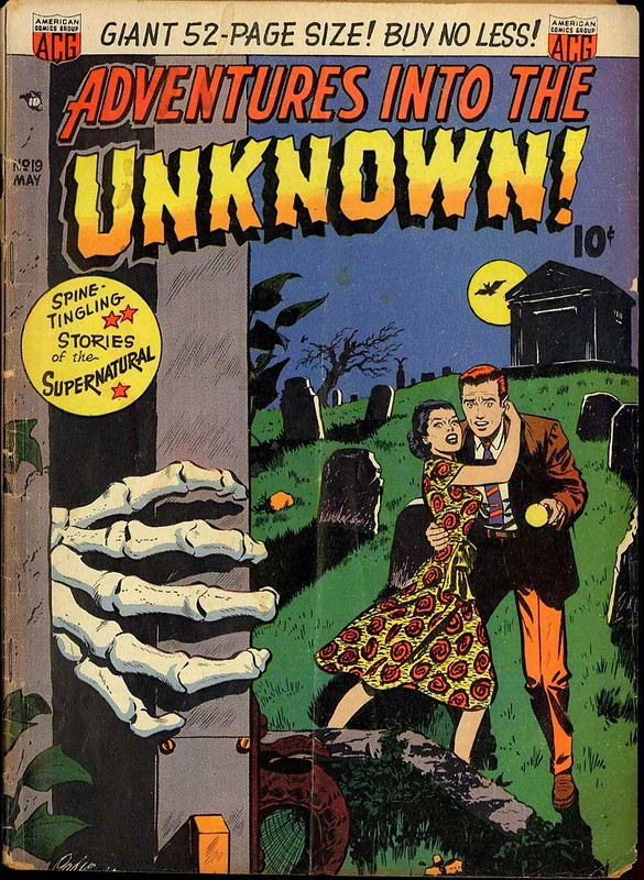 American Comics Group Adventures into the Unknown 19