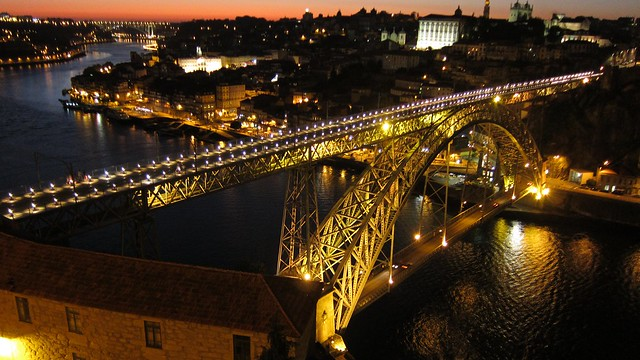 Porto at Night by Flickr CC Su-May